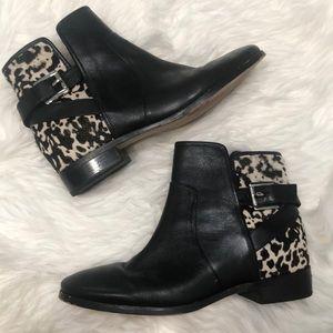 Michael Kors booties leather haircalf booties
